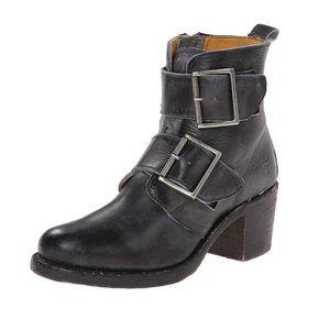 FRYE Sabrina Double Buckle Boot